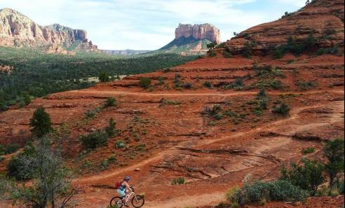 Mountain biking by casey ward