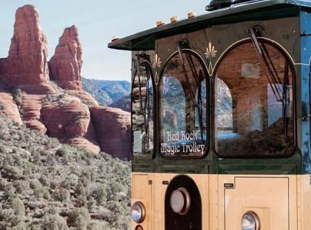 Red rock magic trolley