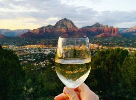 Wine and west sedona