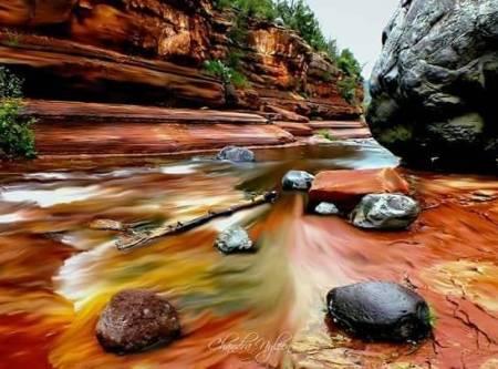 Oak creek time lapse