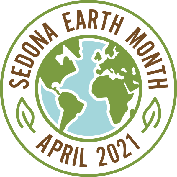 Sedona Earth Month Logo