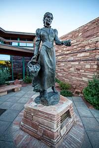 Sedona Public Library Sculpture