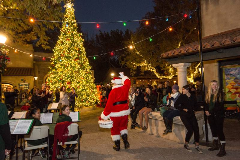 Friday, December 7th don't miss the Annual Holiday Tree Lighting in  Tlaquepaque North co-sponsored with the Sedona Chamber of Commerce and  Tourism Bureau. - Holidays Are So Special At Tlaquepaque - Visit Sedona Blog
