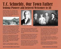 TC Schnebly Plaque